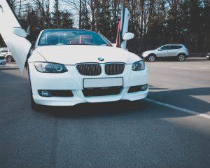 Аренда BMW 3 кабриолет (lambo двери) на свадьбу в Санкт-Петербурге
