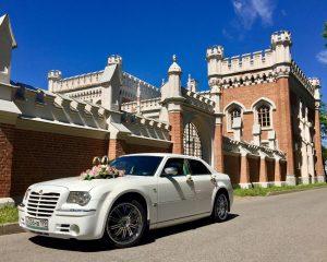 Аренда Chrysler 300c на свадьбу в Санкт-Петербурге