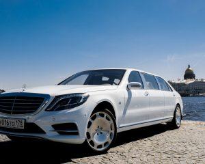 Аренда Merсedes-Benz S222 Pulman на свадьбу в Санкт-Петербурге
