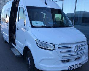 Аренда Mercedes Sprinter VIP 2020 на свадьбу в Санкт-Петербурге