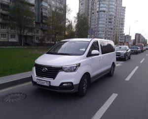 Аренда Hyundai Starex на свадьбу в Санкт-Петербурге