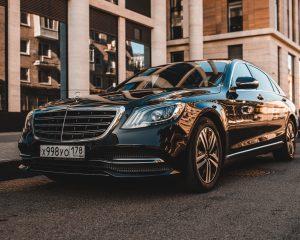 Аренда Mercedes 222 Long черный рестайлинг на свадьбу в Санкт-Петербурге
