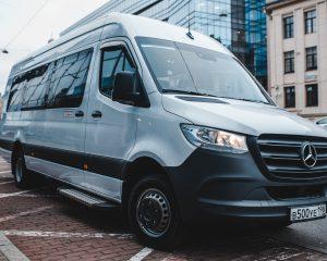 Аренда Mercedes Sprinter VIP 2019 на свадьбу в Санкт-Петербурге
