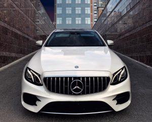 Аренда Mercedes 213 AMG белый на свадьбу в Санкт-Петербурге