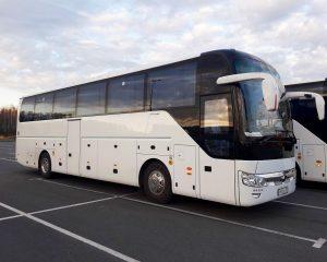 Аренда Автобус YUTONG 45-55 мест на свадьбу в Санкт-Петербурге
